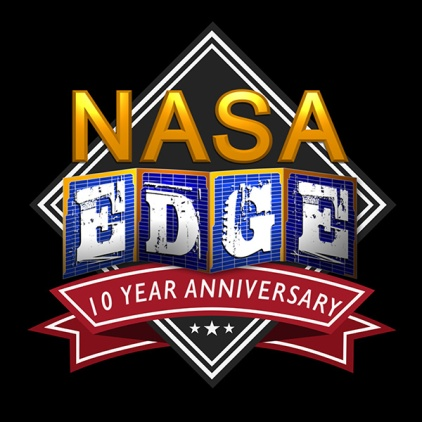 Official NASA EDGE 10 Year T-Shirt