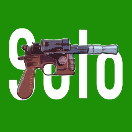 Solo... with Blaster