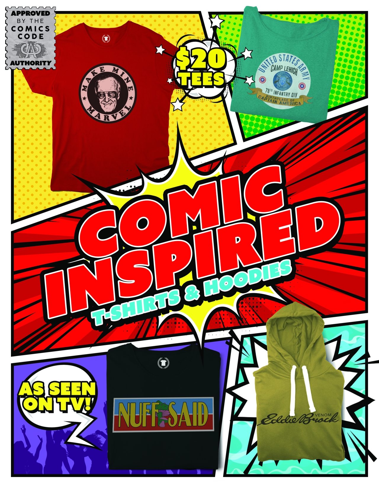 Post Comic Con Tees!